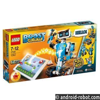 Представлен набор для конструирования и программирования от LEGO