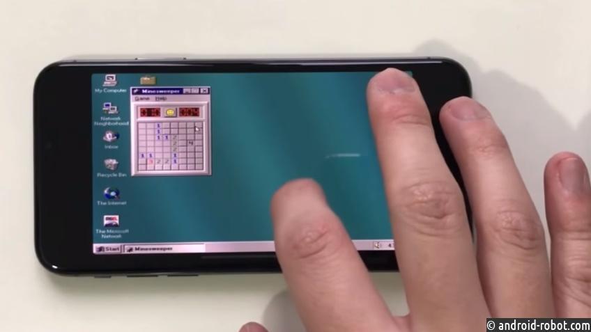 НаiPhone Xзапустили Windows 95 ипоиграли вSimCity 2000