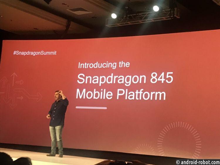 Технические данные Snapdragon 845