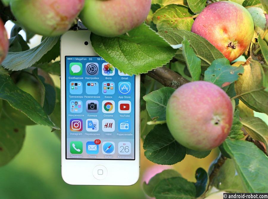 Доля Apple нарынке телефонов в РФ взлетела до45%