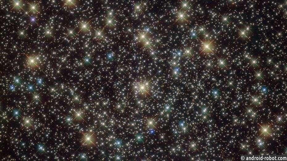 NASA показало необычайное звездное скопление всозвездии Парус