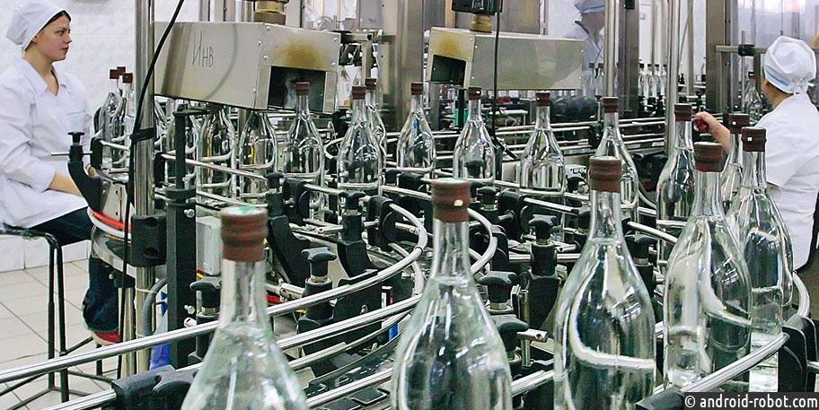 Первая в России система поштучного учета алкогольной продукции внедрена на одном из крупнейших ликероводочных заводов