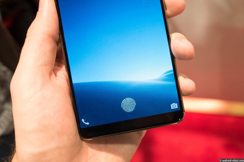 Japan Display представила прозрачный сенсорный индикатор для сканеров отпечатков пальцев