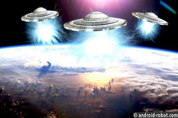 УМКС появился НЛО— Вторжение началось