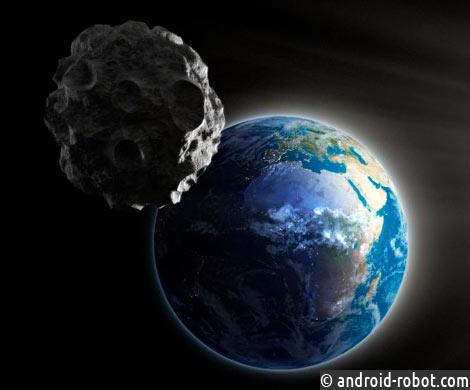 Ученые просчитали вероятность падения астероидов натерритории Земли