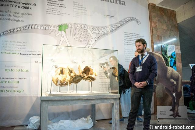 Ученые СПбГУ описали нового русского динозавра— сибиротитана
