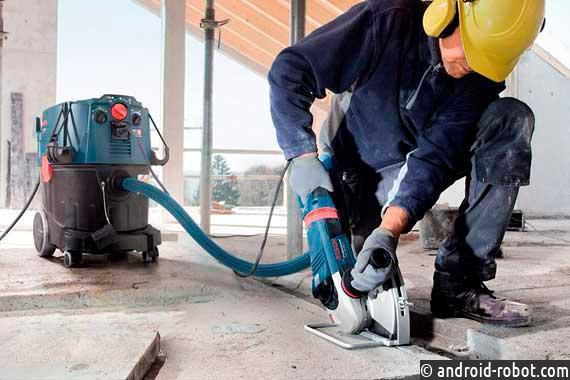 Как работает промышленный пылесос