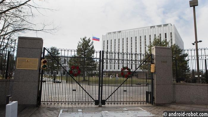 Встолице США площадь перед посольством РФ назвали вчесть Немцова