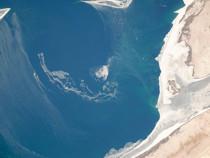 Космонавт сфотографировал сорбиты грандиозную катастрофу