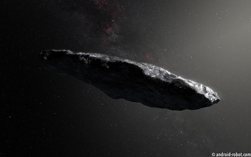 Астрономы пояснили необычное поведение астероида Оумуамуа