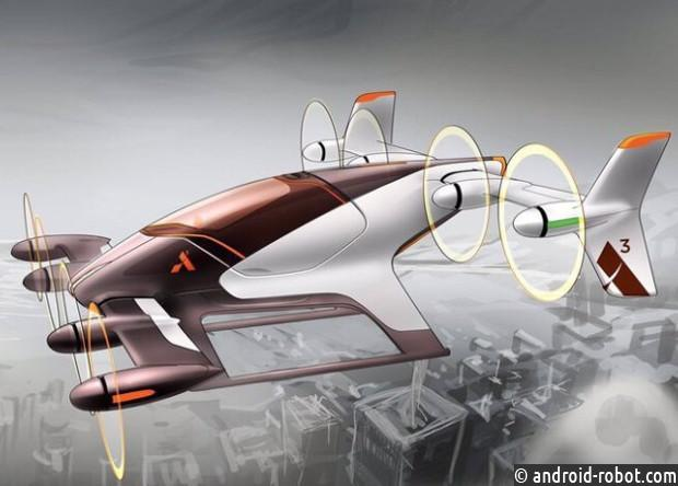 Airbus протестировала полет беспилотного воздушного такси