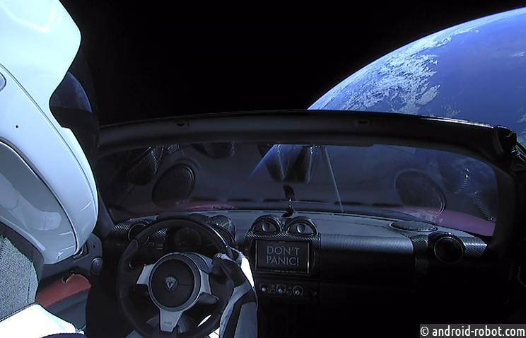 Ученые: отправленный вкосмос спорткар Илона Маска может вернуться наЗемлю