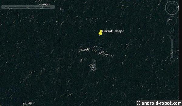 Житель Австралии «нашел» накарте Google малайзийский Boeing соследами отпуль