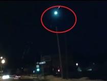 Падающий наЕкатеринбург суперболид сняли навидео