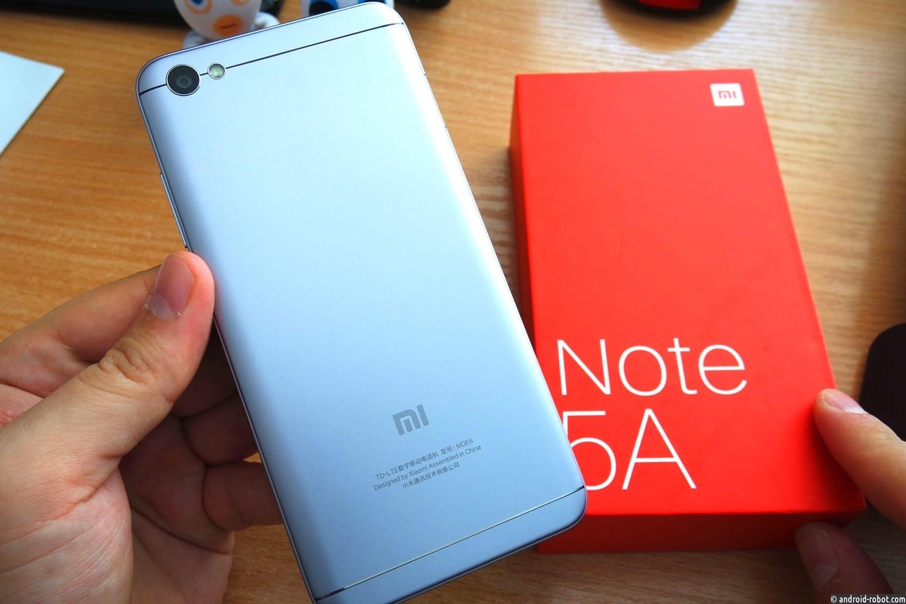 Xiaomi Redmi Note 5a стал вторым попопулярности телефоном в РФ
