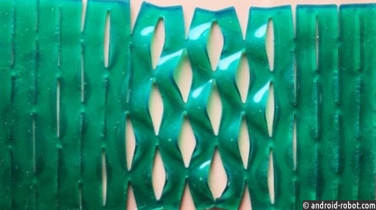 Ученые разработали необычайный пластырь набазе техники киригами
