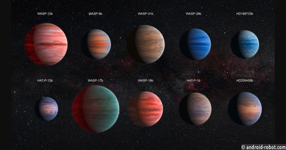 Астрономы обнаружили огромную заполненную водой планету