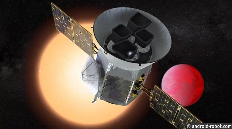 NASA запускает вкосмос орбитальный телескоп для поиска экзопланет