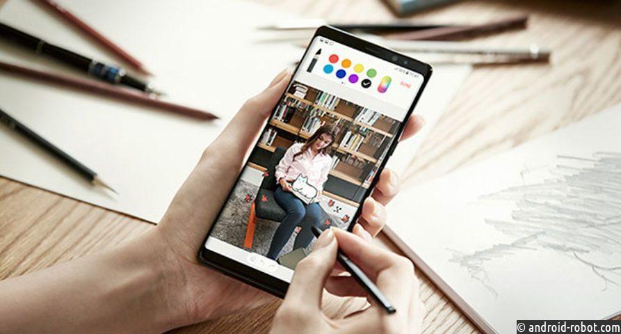 Samsung Galaxy Note 9 появится под кодовым названием Crown