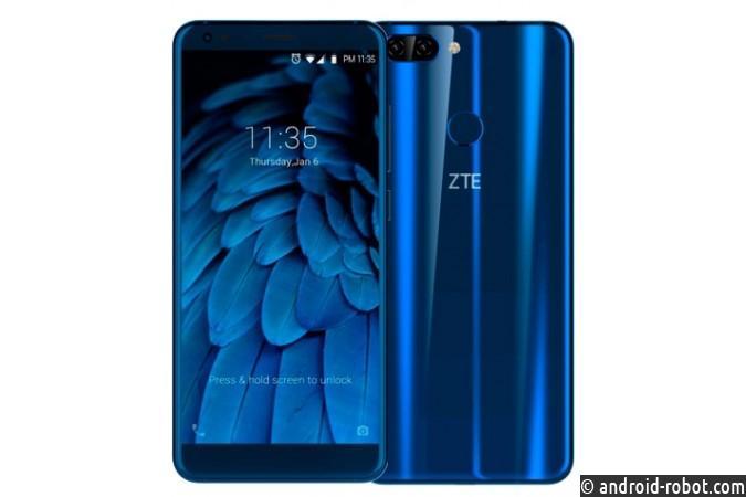 Продажи телефона ZTE Blade V9 начались в Российской Федерации