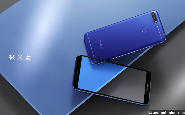 Бюджетный смартфон Huawei Honor 7A представлен официально