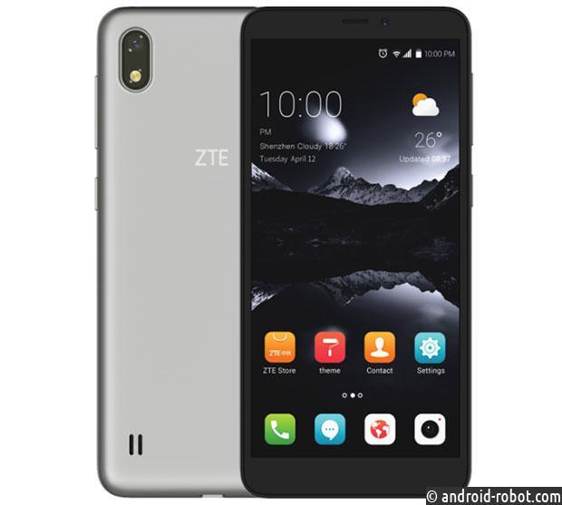 ZTE готовит дешевый смартфон A606 с дисплеем HD+