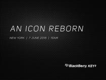Новый BlackBerry KEY 2 будет представлен 7июня