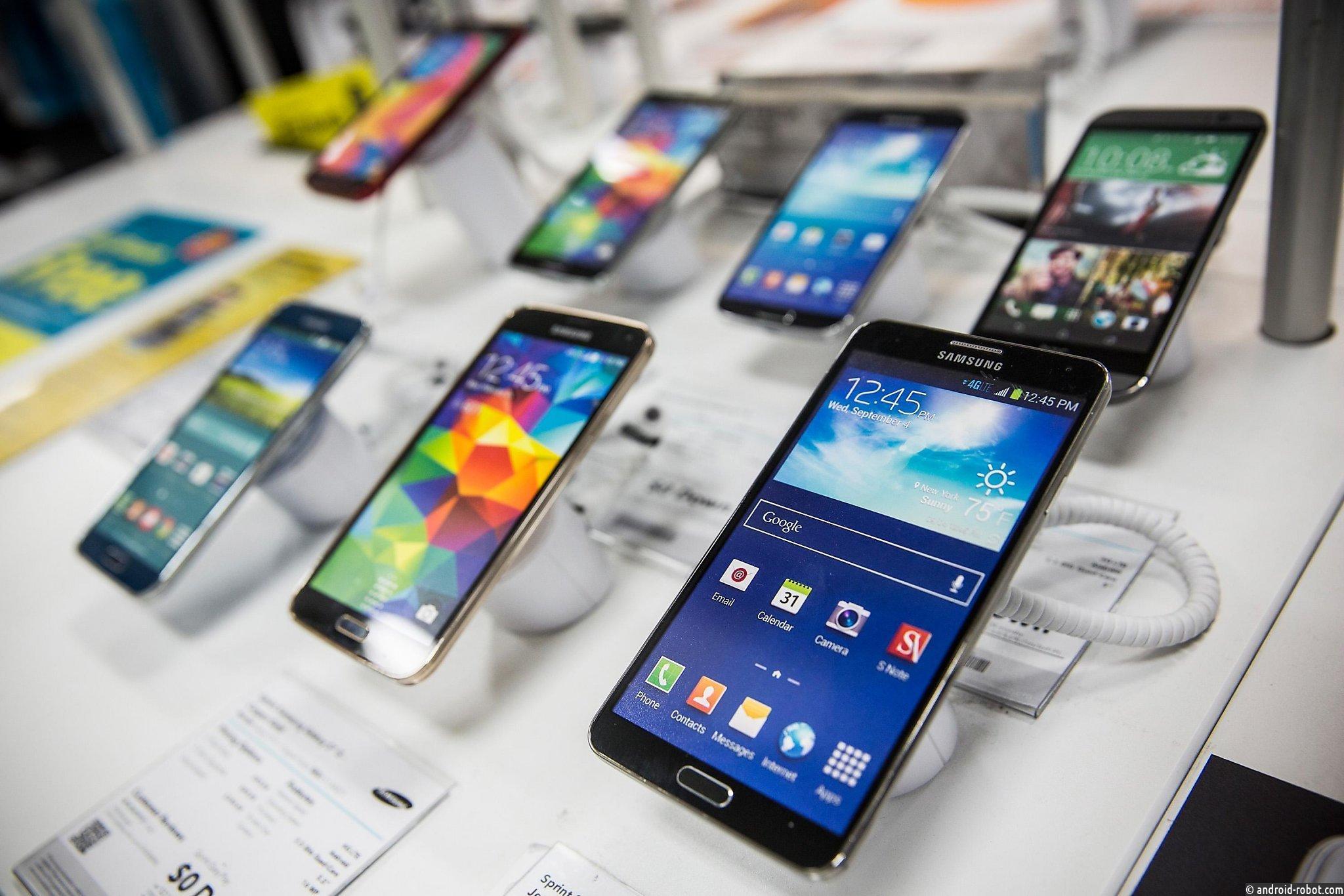 Набюдается снижение мировых продаж телефонов
