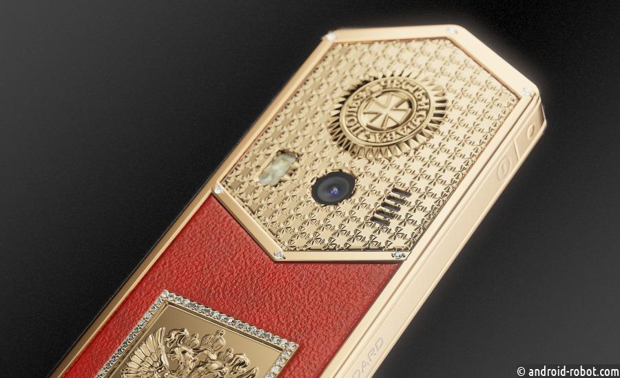 Caviar представил серию кнопочных «Царь-телефонов» и iPhone X