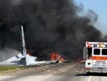 Весь экипаж разбившегося вСША военно-транспортного самолета С-130 погиб