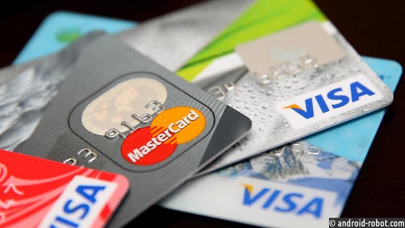 Visa иMastercard начали тестировать карты сосканером отпечатка пальца