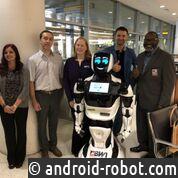 Promobot V.4 презентовали в международном аэропорту в США