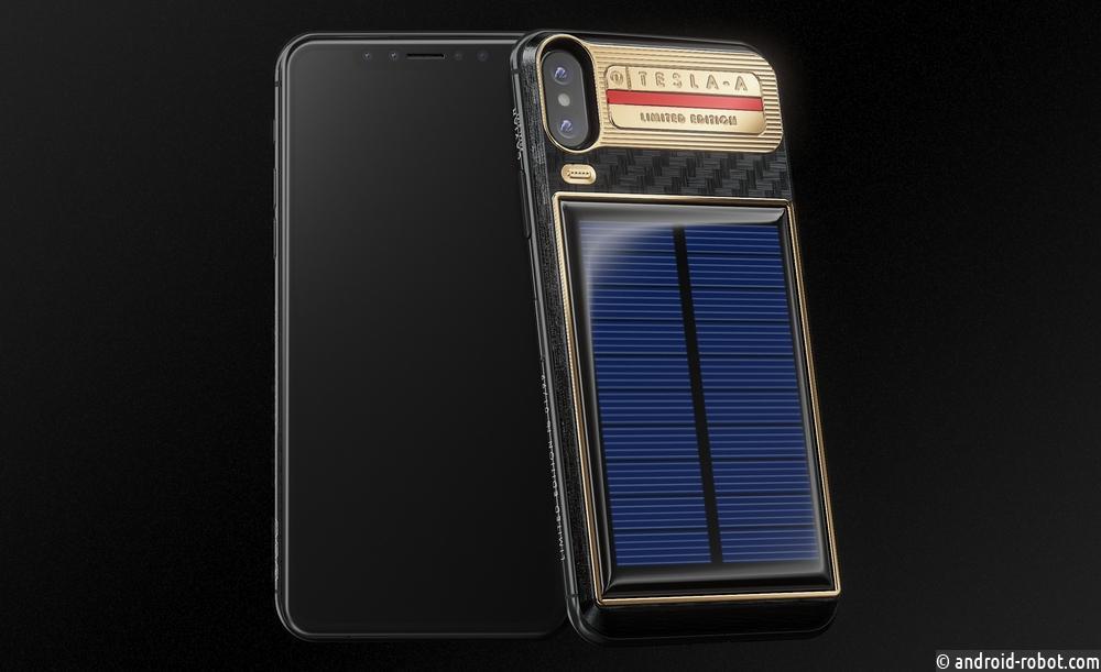 Caviar предложил Илону Маску идею роскошного автомобиля Tesla и новый дизайн iPhone X