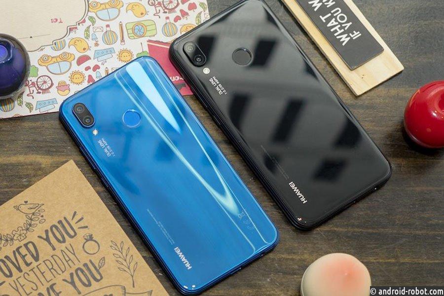 Huawei слила вСеть изображения бюджетного Huawei Nova 3 дорелиза