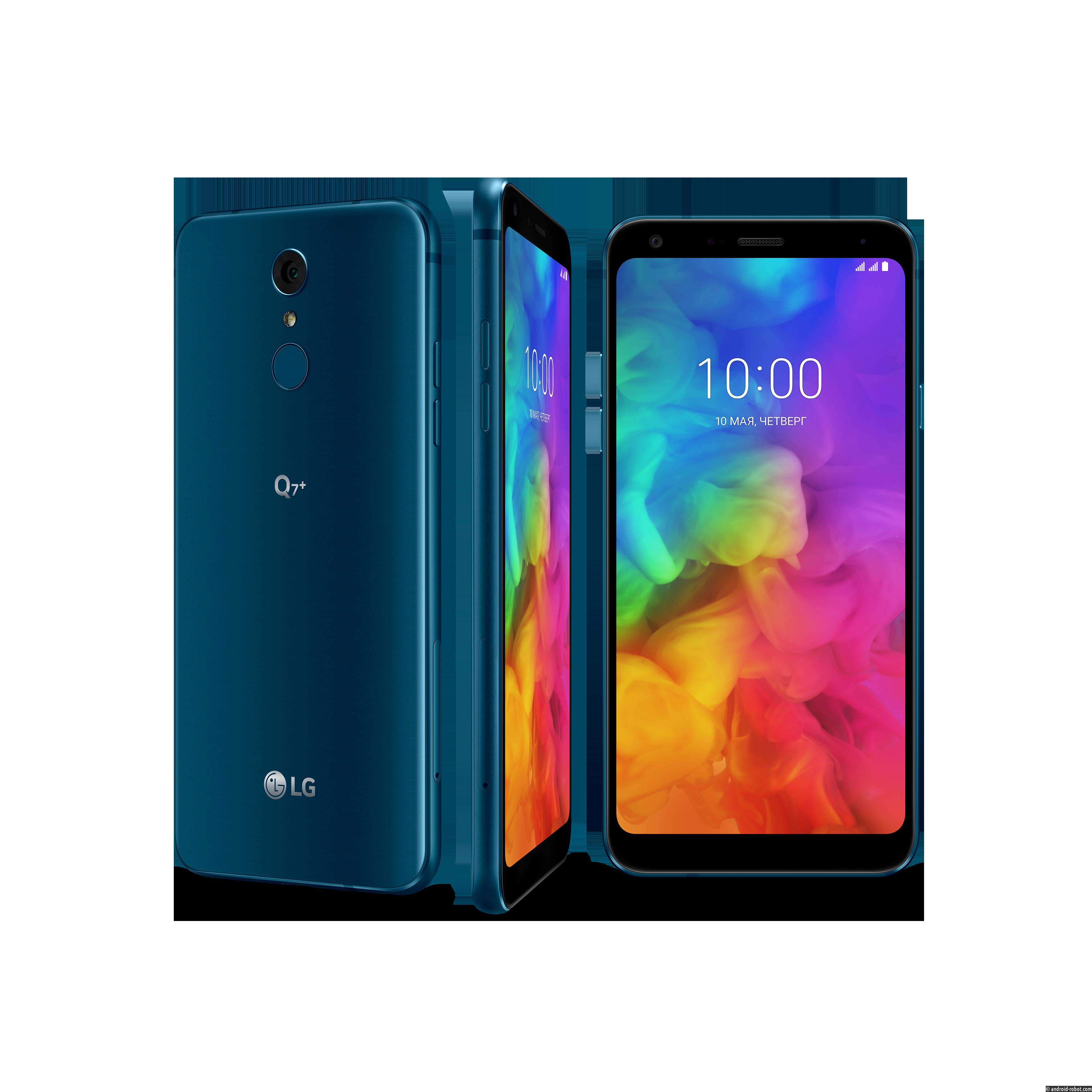 В России начались продажи LG Q7 и LG Q7+