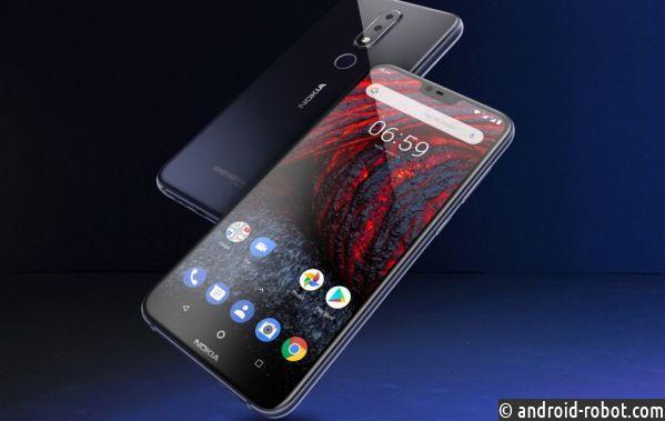 Нокиа 6.1 Plus: безрамочный смартфон на Android One