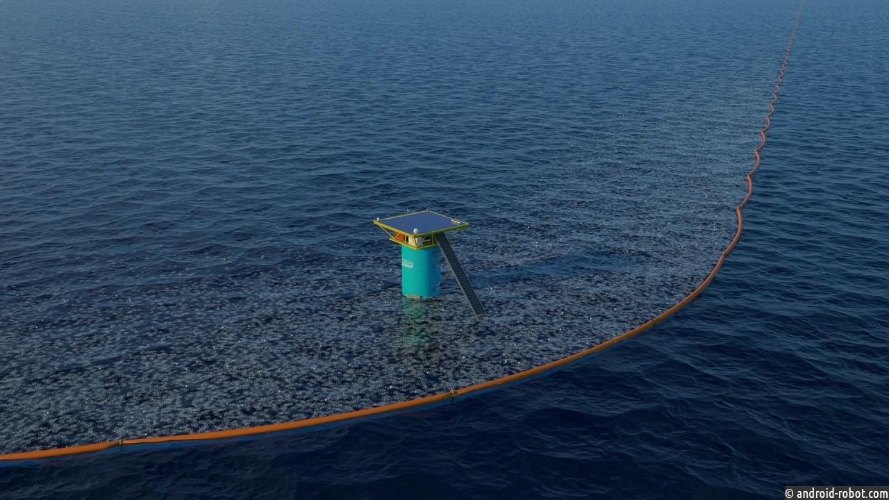 Начался проект по удалению 88 000 тонн пластика из Тихого океана