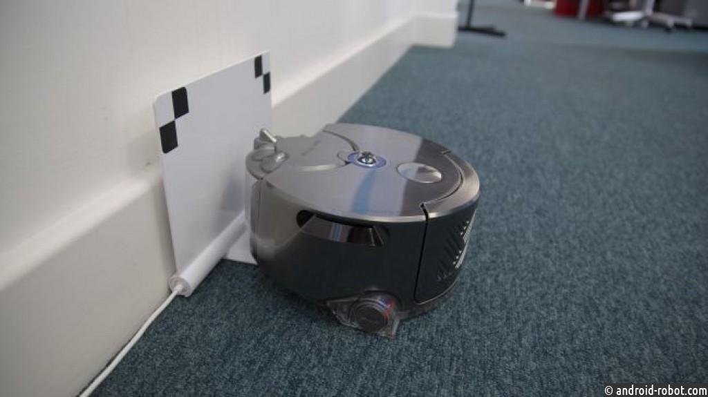 Робот-пылесос Dayson получает более четкое ночное видение, умное отображение