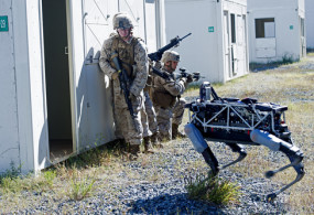 Посмотрите видео с будущим роботом-убийцей