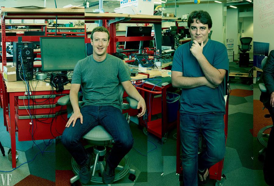 Цукерберг и Палмер Лаки