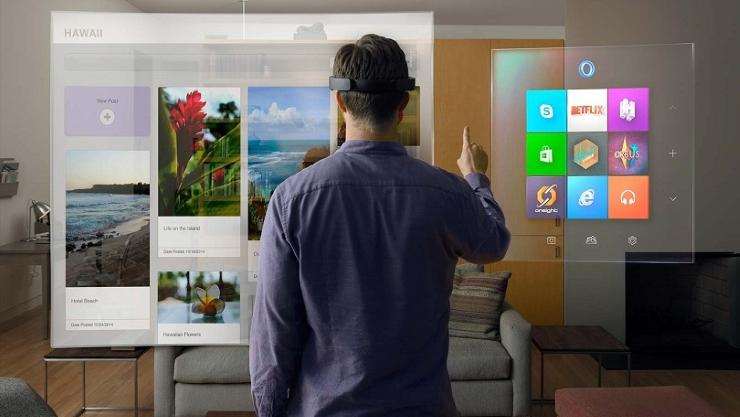 виртуальная реальность Microsoft