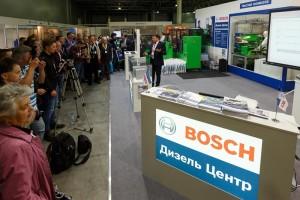 Bosch на выставке COMTRANS'15