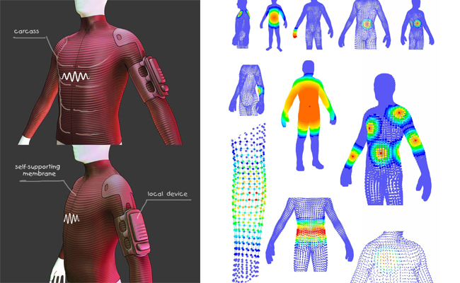 костюм для виртуальной реальности