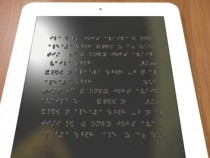 Разрабатывается планшет для слепых