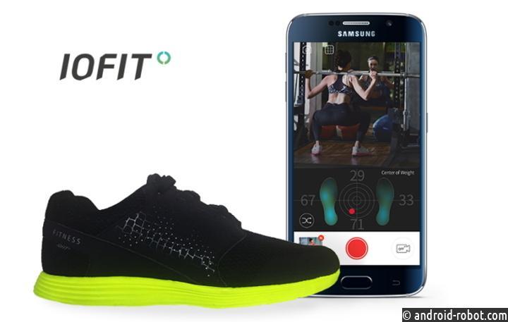 смарт-обувь IOFIT