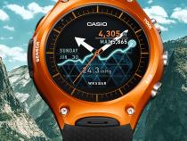 Компания Casio представила умные смарт-часы Casio Smart Outdoor Watch WSD-F10