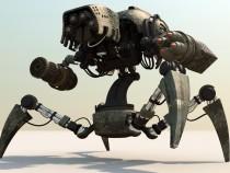 На Российской Федерации анонсировали создание четвероногого робота спулеметом