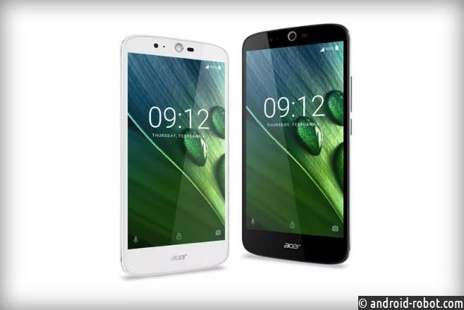 Acer представила новый смартфон Liquid Zest Plus