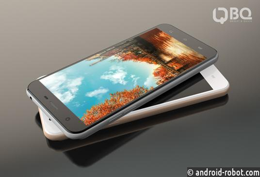BQ Mobile выпустил новый флагманский смартфон BQS-5505 AMSTERDAM