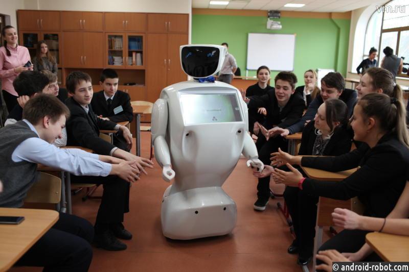 Втомских школах уроки будут вести роботы
